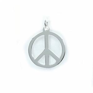 Colgante Peace en Plata