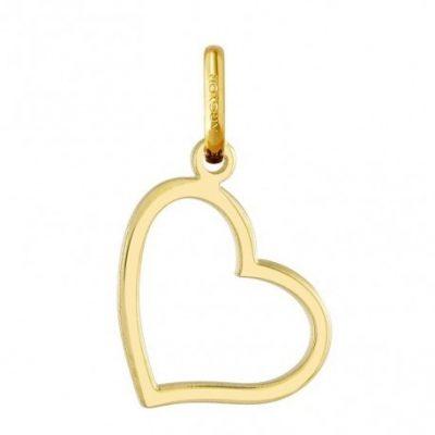 Colgante Oro Amarillo Corazón