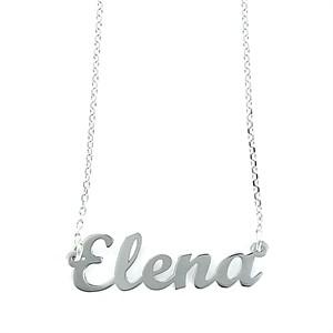Colgante My Name Elena Plata