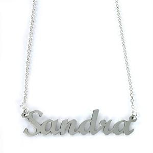 Colgante My Name Sandra Plata