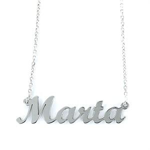 Colgante My Name Marta Plata