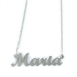 Colgante My Name María Plata