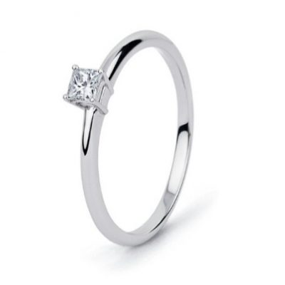 Solitario Princesa Bte 0,17ct