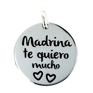"Colgante ""Madrina"" Plata My Life"