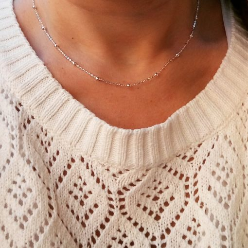 Collar Dayara Plata