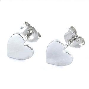 Pendientes Heart Plata