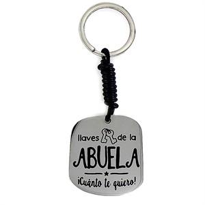 """Llaver Happy """"Abuela"""" Acero"""