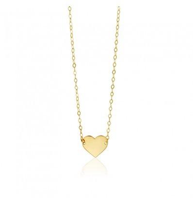 Gargantila Corazón Oro 18K