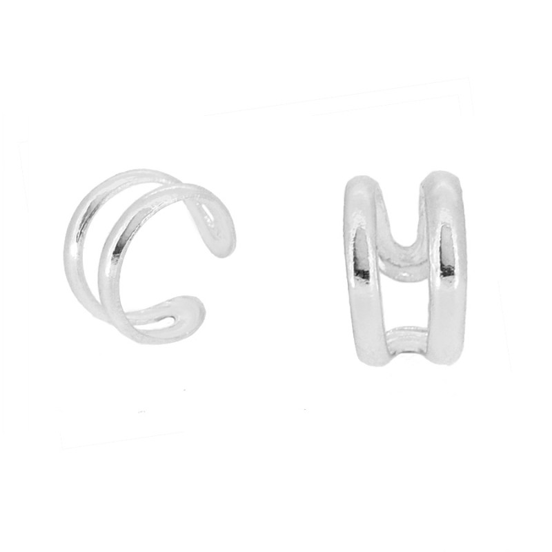 05a7d7431a02 Ear Cuff Electra Plata